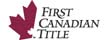 Title Insurance offered by First Canadian Title