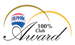 REMAX 100% Award logo