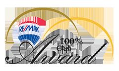REMAX 100% Award logo